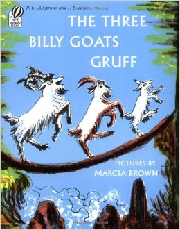 The Three Billy Goats Gruff (1957) illustrated by Marcia Brown