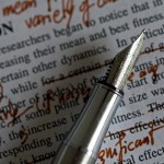 On writing: Editing in the first draft