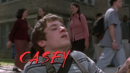 The Faculty (1998) Casey, beginning