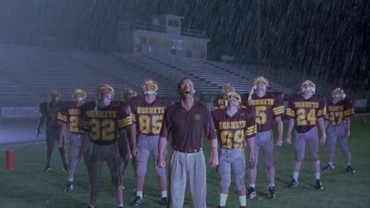 The Faculty (1998) Football team