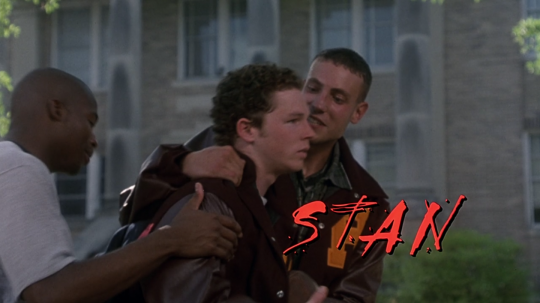 The Faculty (1998) Stan, beginning