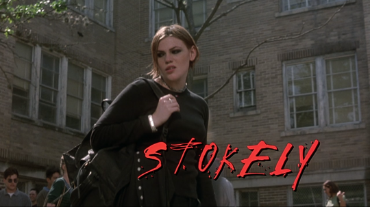 The Faculty (1998) Stokely, beginning