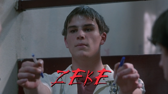 The Faculty (1998) Zeke, beginning
