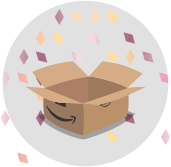 Amazon Giveaway winning box